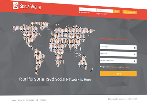iScripts SocialWare is an open source social networking script with customizable features like blogs, albums, gift shop, classifieds ,chat, storefront etc.Start your own social networking site in minutes or add community traffic to your existing web site