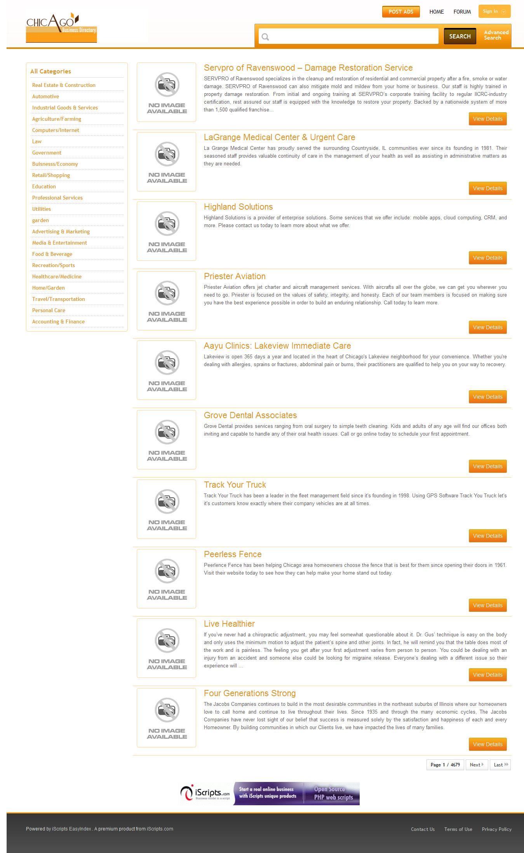Listing Showcase Karachi Business Directory - induced info