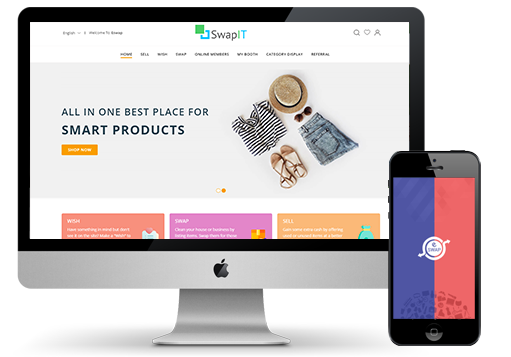 iScripts eSwap is a  complete online swapping platform allowing you to create your own online swap meet / barter web site.