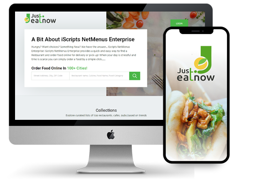 iScripts NetMenus Enterprise is a complete software solution for online food court creation where users can search, order and get their food delivered from multiple restaurants.