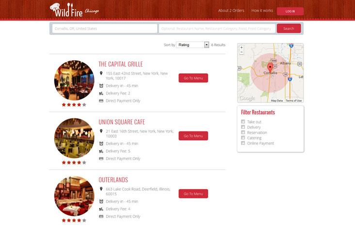 multi restaurant ordering software