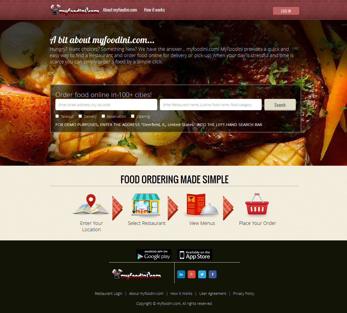 Multi Restaurant Delivery System Online Web Order Software