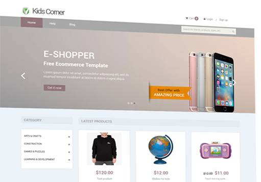 iScripts Vistacart is an open source ecommerce software for creating online store front for retail stores.